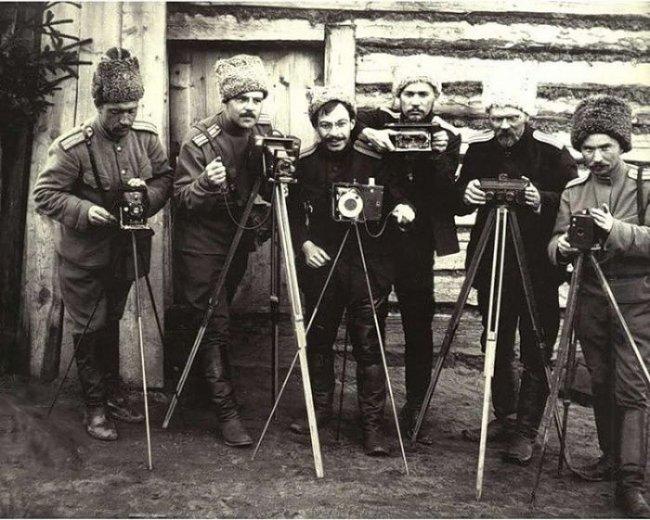 Фотографы 10–й Стрелковой дивизии, 1915 год (фото дня)