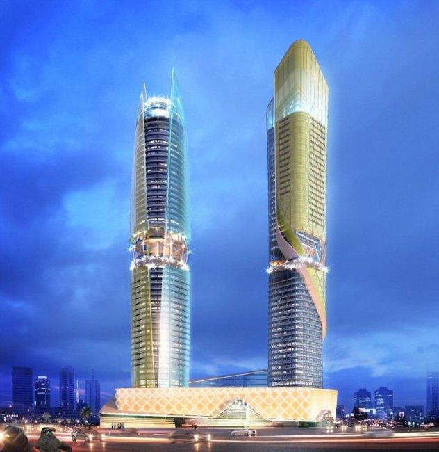 Первый в мире отель с тропическим лесом откроется в Дубае (9 фото)
