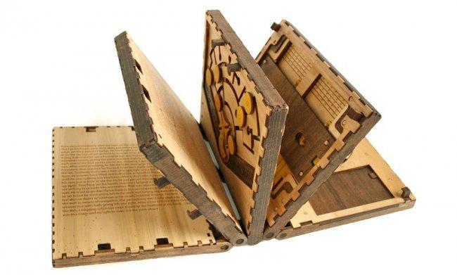 Книга-головоломка (8 фото)