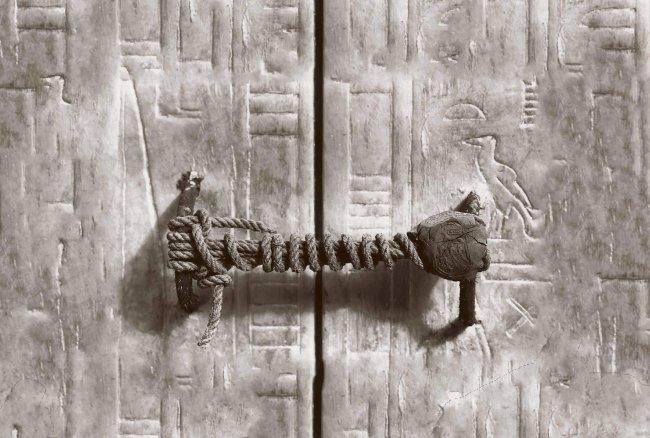 Печать на гробнице Тутанхамона (фото дня)