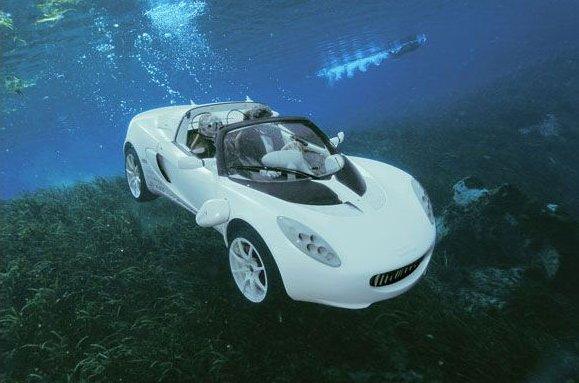 Автомобиль-амфибия Rinspeed sQuba (11 фото + видео)