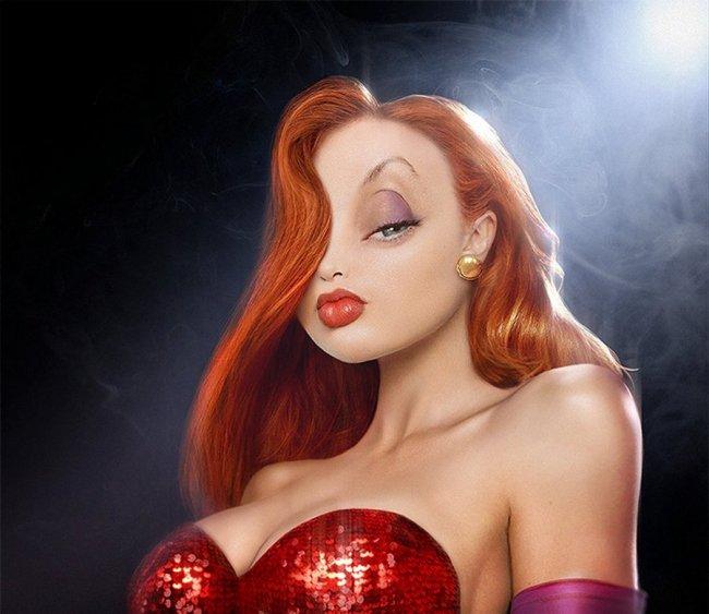 Мультипликационные персонажи в 3D (55 фото)