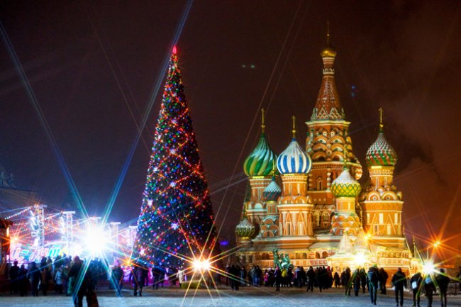 Как с интересом провести Новый год в Москве (5 фото)