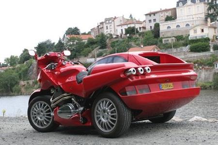 Самые уникальные мотоциклы в мире - Фото