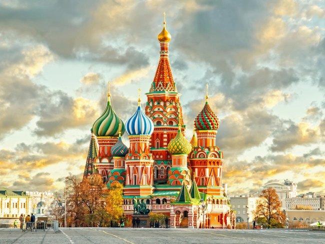 Отдых в РФ: Москва, город контрастов