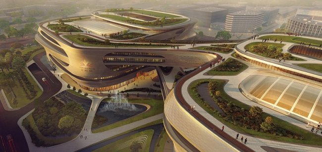 Удивительный центр медицины в Китае - Фото