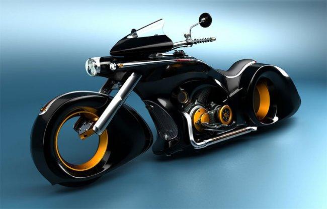 Самые уникальные мотоциклы в мире (20 фото)