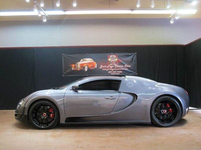 Реплика Bugatti Veyron всего за 82 000 $ (4 фото)