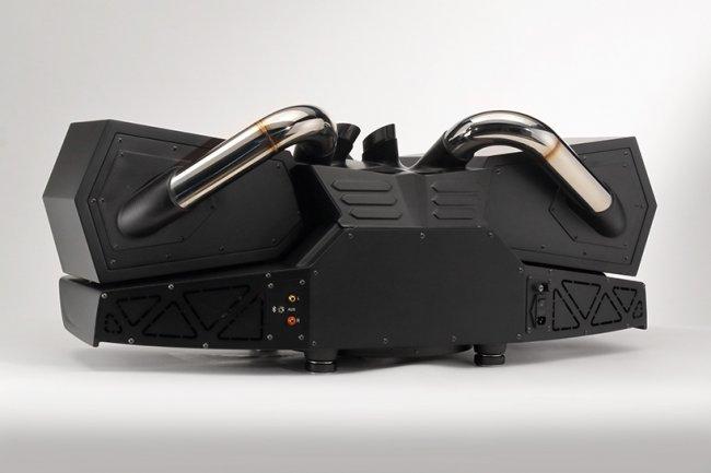 Стереосистема, созданная из запчастей на Lamborghini