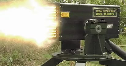 Уникальное оружие - Металлический шторм
