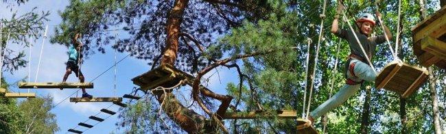 Преимущества веревочных парков (3 фото)