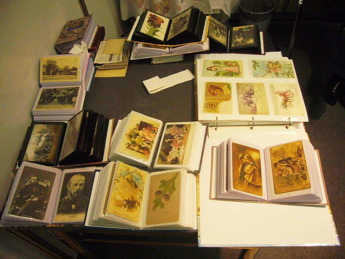 Коллекционирование открытки