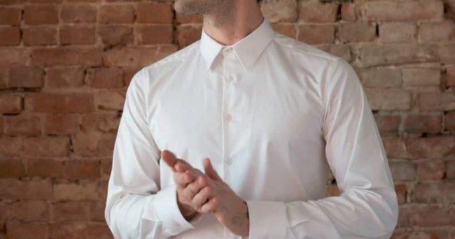 Рубашка, которую никак не испачкать (7 фото + видео)
