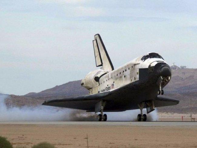 Авто - факт: NASA заказывает шины для космических шаттлов у компании Michelin