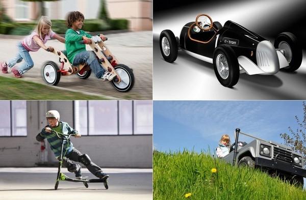 10 невероятных средств передвижения для детей