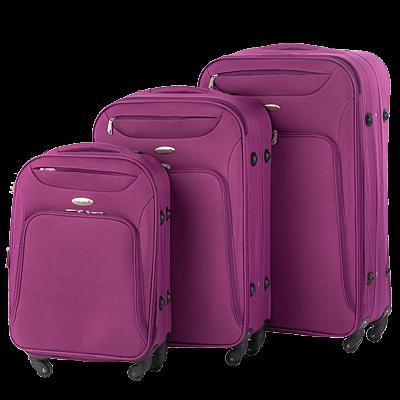 7ccf070b9114 Какой чемодан лучше  пластиковый или тканевый  » Интересные факты ...