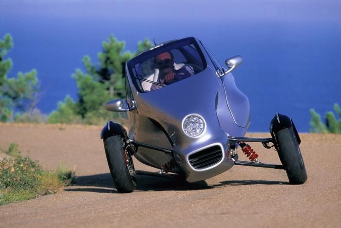 Трехколесный автомобиль от Mercedes