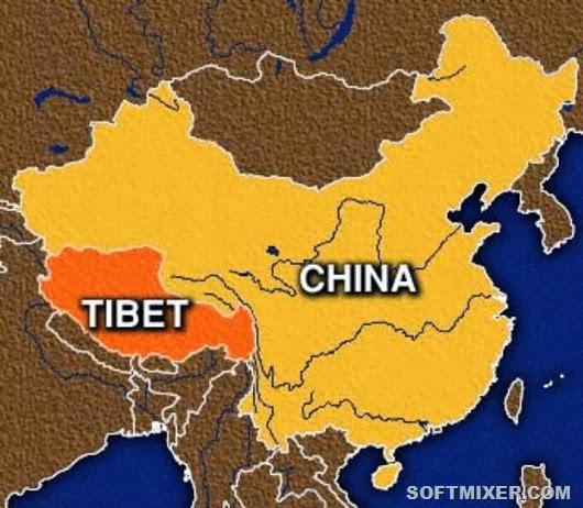 Уникальные места на планете: Тибет (7 фото)