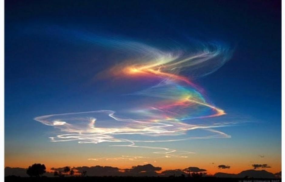 Огненная радуга (5 фото)