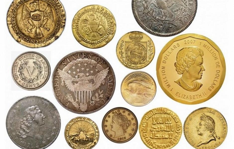 Самые дорогие монеты в мире (6 фото)