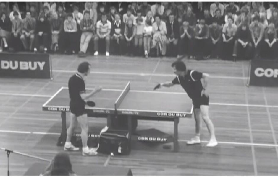 Один из самых веселых матчей в истории настольного тенниса (видео дня)