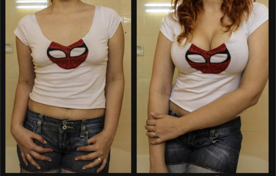 Увеличение груди в домашних условиях (8 фото)