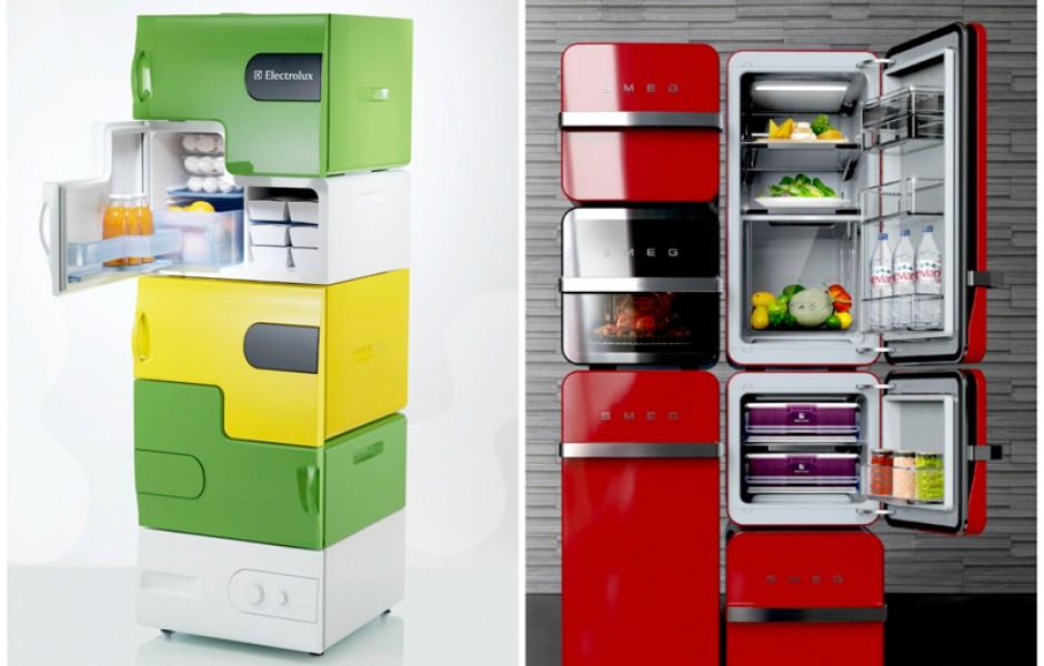 Самые уникальные холодильники в мире