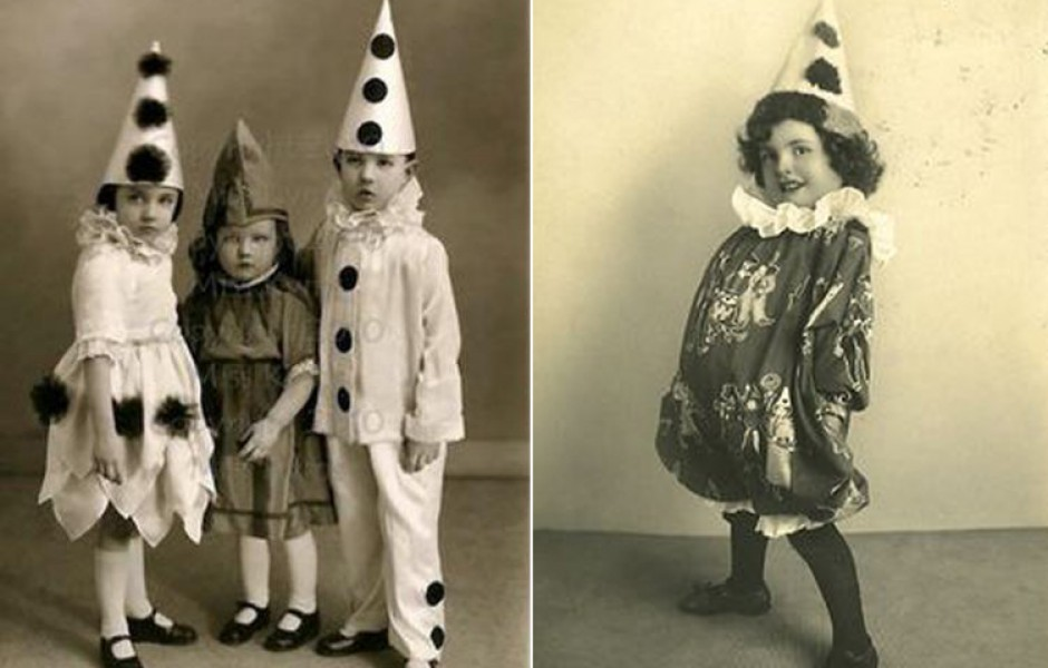 Как появились первые карнавальные новогодние костюмы?!