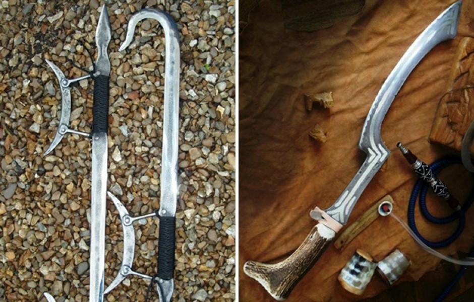 Редкие виды древнего оружия (19 фото)