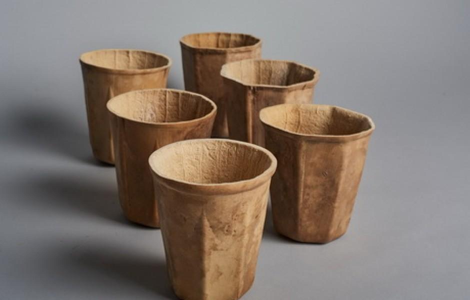 Экологичные стаканы из тыквы (3 фото)