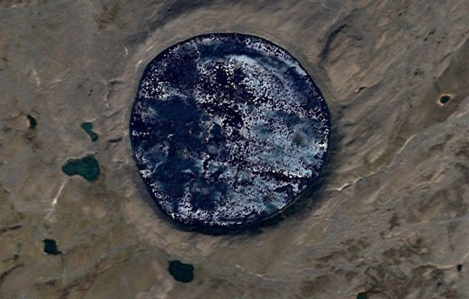 Интересные места в Google Earth (18 фото)