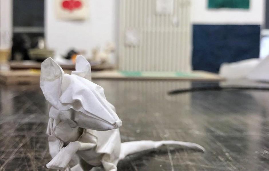 Швейцарский художник, который возводит оригами на новый уровень (12 фото)