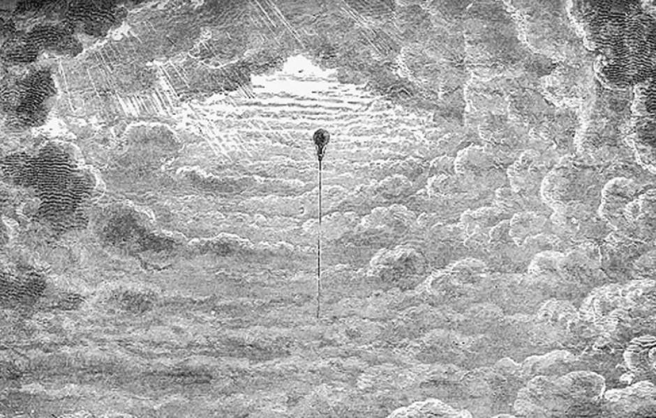 Путешествие на воздушном шаре 1862 года ( 9 фото )