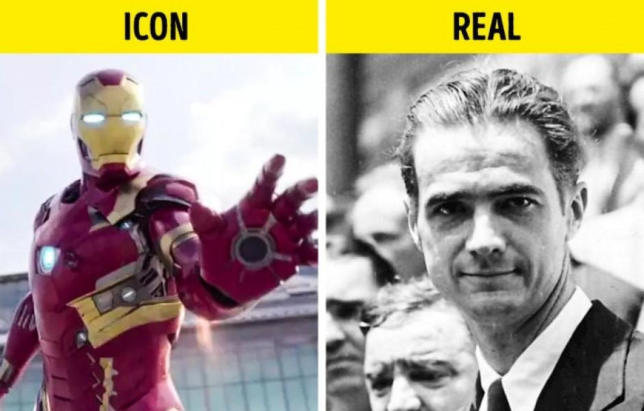 8 реальных людей, которые прячутся за известными медийными персонажами