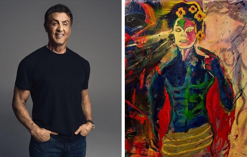 Знаменитости, которые оказались талантливыми художниками (17 фото)