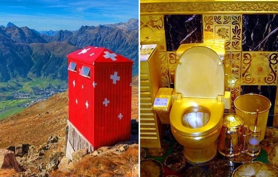 10 странных туалетов из разных уголков мира
