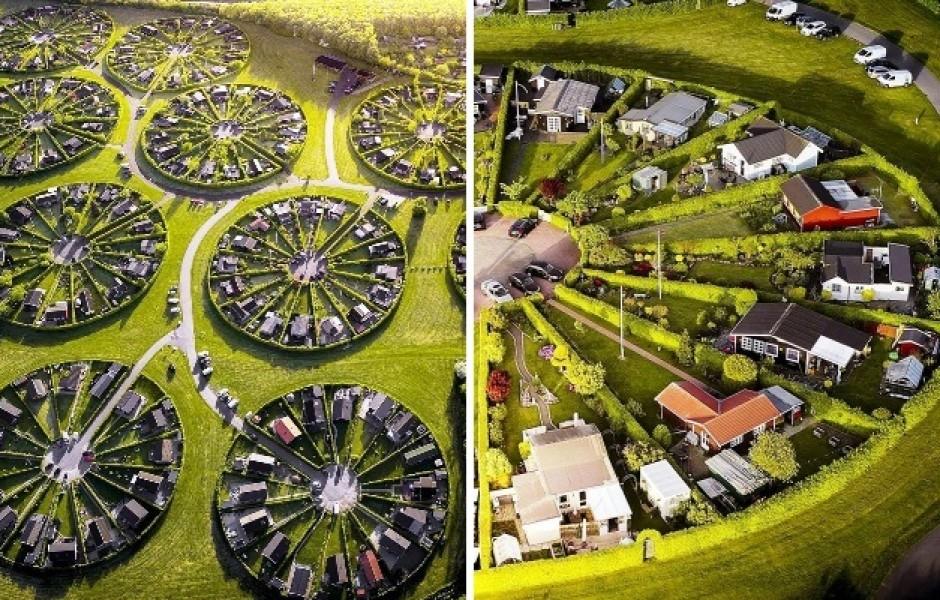 «Город-сад» в Дании (7 фото)