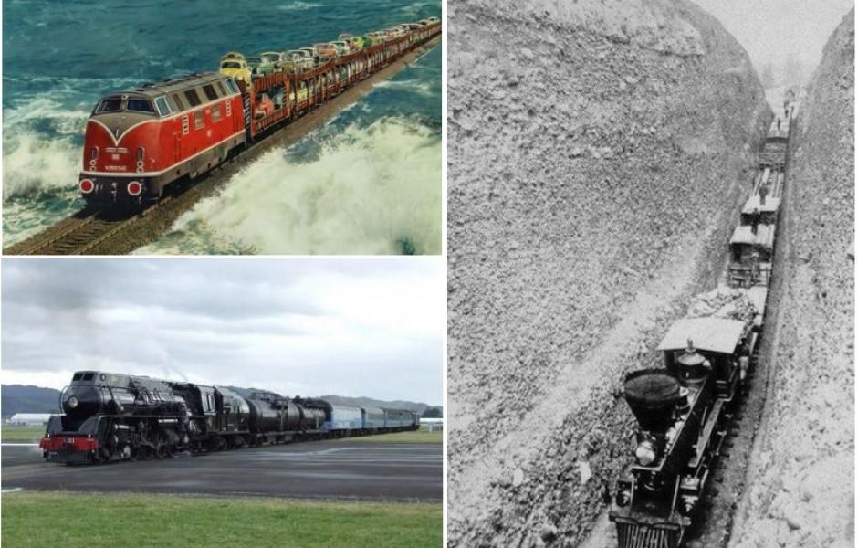 ТОП-7 Самых необычных железнодорожных путей