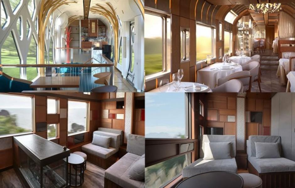 Роскошный поезд из Японии, отправляющийся с Платформы 13?