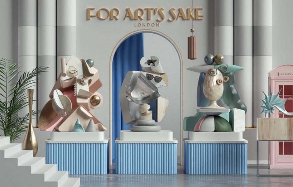 Картины Пикассо в трехмерных скульптурах (10 фото)