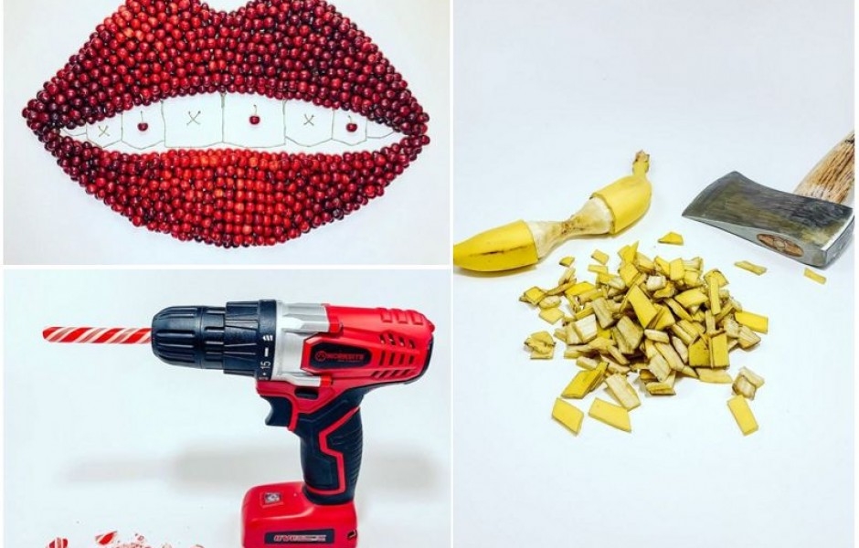 Неожиданные композиции из еды от BC Smith (24 фото)