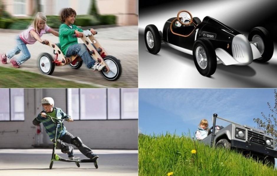 ТОП-10 необычных средств передвижения для детей