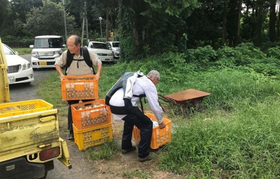 Японские пенсионеры стали носить экзоскелеты