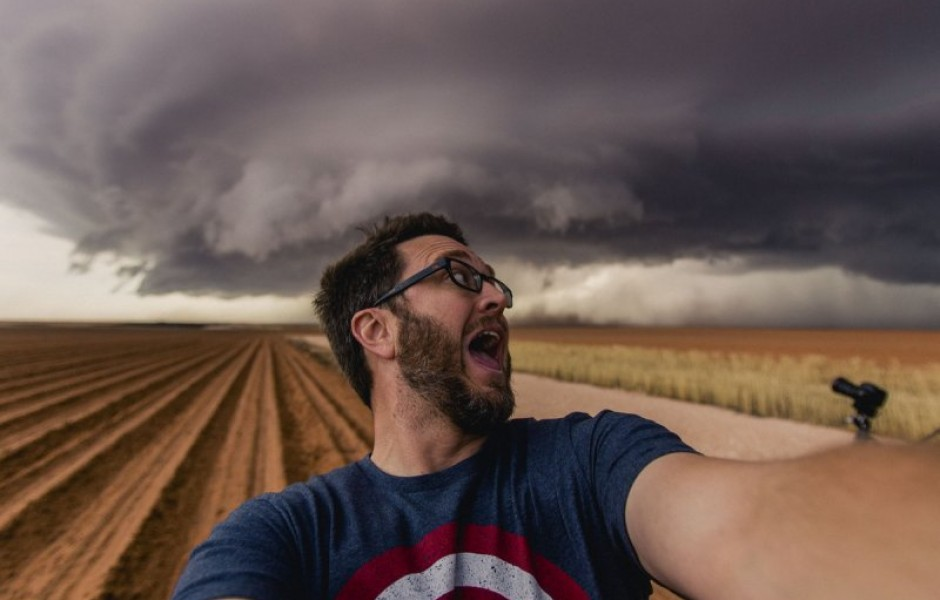 Майк Олбински — охотник за ураганами