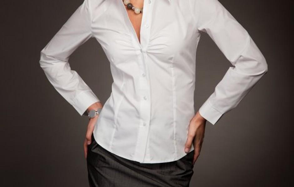 Интересные детали женской блузки