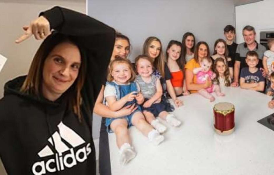 Самая многодетная мать Великобритании беременна 22-м ребенком