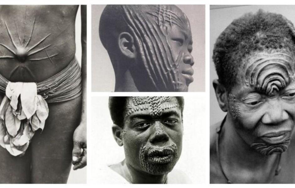Ритуальное шрамирование (20 фото)