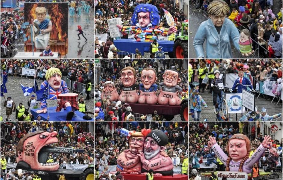 Неполиткорректный карнавал в Германии (15 фото)