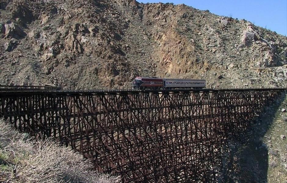 Самый высокий деревянный мост-эстакада (26 фото + 2 видео)