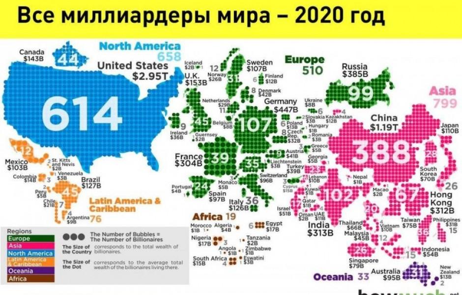 Где живут миллиардеры (4 фото)
